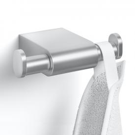 Zack ATORE double towel hook brushed stainless steel