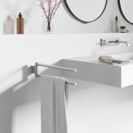 Zack ATORE towel rail brushed stainless steel