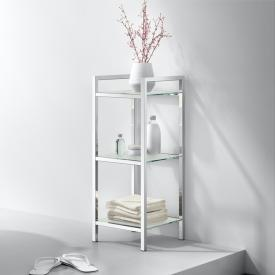 Zack CENIUS bathroom rack polished stainless steel/satin