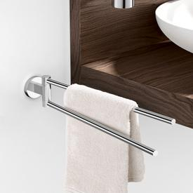 Zack SCALA towel bar, swivelling