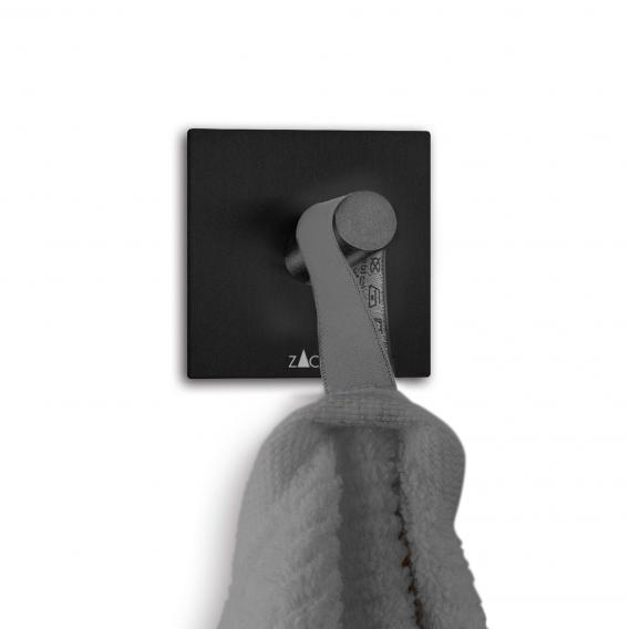 2-Piece Zack 40305 Duplo Self-Adhesive Square Towel Hook Self-Adhesive