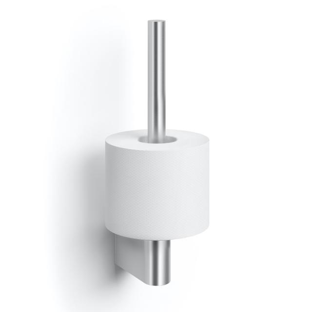 Zack ATORE spare toilet roll holder brushed stainless steel