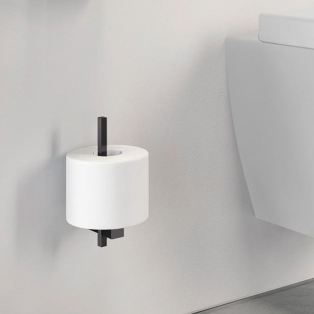 Zack CARVO replacement toilet roll holder black