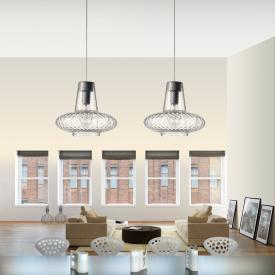 zafferano Giulietta pendant light 2 heads