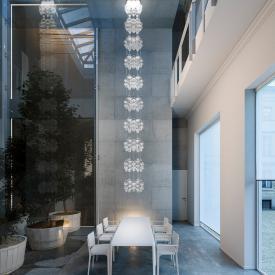 zafferano Onda LED pendant light