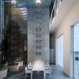 zafferano Onda LED pendant light