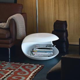 Zanotta White Shell side table