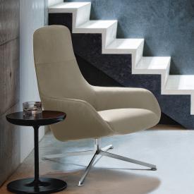 Zanotta Kent armchair, real leather