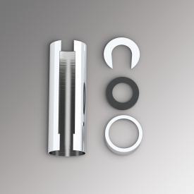 Zehnder cover for immersion heater WIVAR set chrome