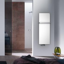 Zehnder Fina Bar bathroom radiator for hot water operation white, 735 Watt