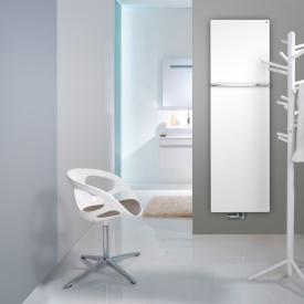 Zehnder Fina Bar bathroom radiator for hot water operation white, 1347 Watt