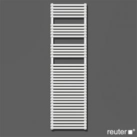 Zehnder forma warm water or mixed towel radiator white width 596 mm, 1133 Watt
