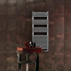 Zehnder forma warm water or mixed towel radiator chrome width 496 mm, 254 Watt