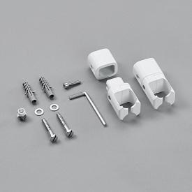 Zehnder installation kit for room divider without legs for Toga white