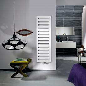 Zehnder Metropolitan Bar bathroom radiator for hot water operation white, 730 Watt, normal version