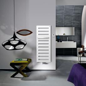 Zehnder Metropolitan Bar bathroom radiator for mixed operation with built-in heating rod white, 563 Watt, 500 W heating rod
