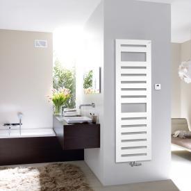 Zehnder Metropolitan Spa bathroom radiator for mixed operation with built-in heating rod white, 889 Watt, 900 W heating rod