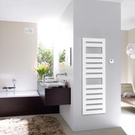 Zehnder Metropolitan Spa bathroom radiator for purely electrical operation white, 600 Watt