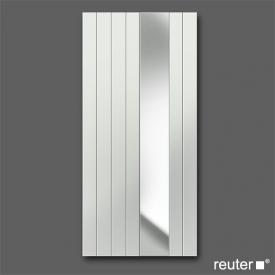 Zehnder nova mirror bathroom radiator White width 780 mm, 976 Watt