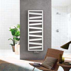 Zehnder Ribbon bathroom radiator for hot water or mixed operation white, 608 Watt