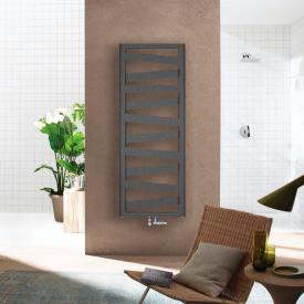Zehnder Ribbon bathroom radiator for hot water or mixed operation anthracite, 743 Watt