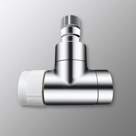 """Zehnder Series XE valve body angled 1/2"""" chrome"""