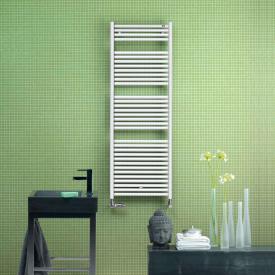 Zehnder toga Radiateur de salle de bains pour mode eau chaude ou mixte blanc largeur 600 mm, 871 Watts