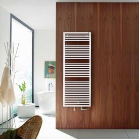 Zehnder Universal bathroom radiator for hot water or mixed operation white, single layer, 890 Watt