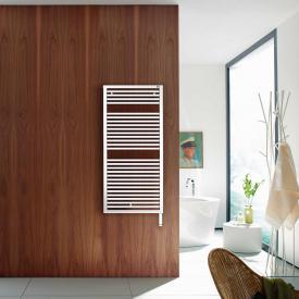 Zehnder Universal bathroom radiator for purely electrical operation white, 600 Watt