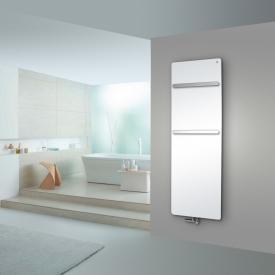 Zehnder Vitalo Bar bathroom radiator for hot water operation white, 994 Watt