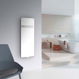 Zehnder Vitalo Bar bathroom radiator with EasyFit connection box for hot water operation white, 465 Watt