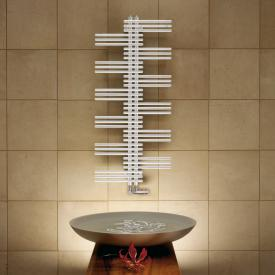 Zehnder Yucca bathroom radiator for hot water or mixed operation white, single-layer, 541 Watt
