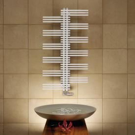 Zehnder Yucca bathroom radiator for hot water or mixed operation white, single-layer, 661 Watt