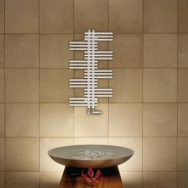 Zehnder Yucca bathroom radiator for hot water or mixed operation white, single-layer, 321 Watt
