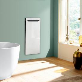 Zehnder Zenia thermal comfort unit for concealed mounting, purely electric white, hinged right