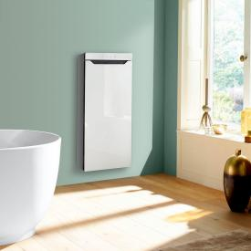 Zehnder Zenia thermal comfort unit for surface mounting, purely electric white, hinged right