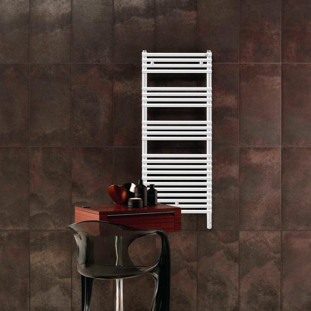 Zehnder Forma Spa towel radiator for purely electrical operation white, 500 Watt