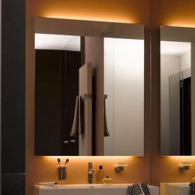 Zierath Monza LED illuminated mirror with LED lighting