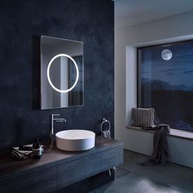 Zierath Moon Pro illuminated mirror with LED lighting