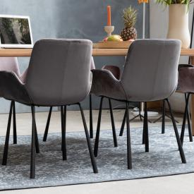 Zuiver Brit set of two chairs with armrests