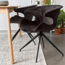 Zuiver Mia set of two chairs with armrests