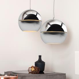 Zuiver Retro ´70 chrome pendant light 1 head