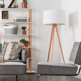 Zuiver Tripod Copper floor lamp