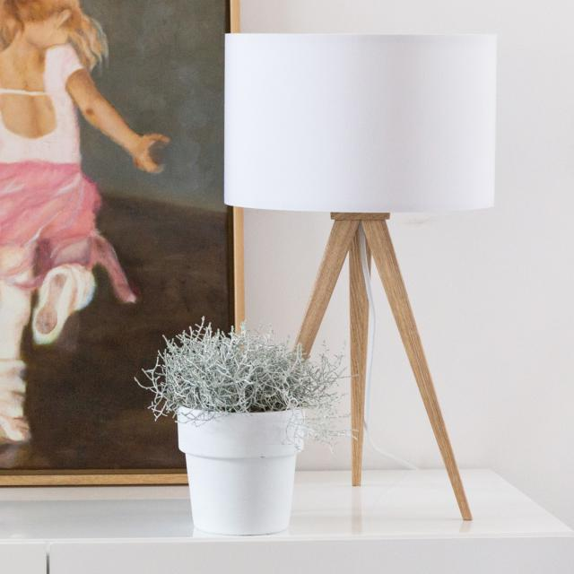 Zuiver Tripod Wood Table table lamp